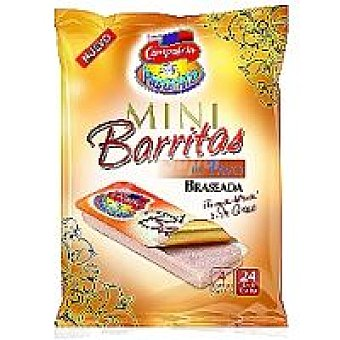 Campofrío Barritas de pavo braseado Pack 4x30 g