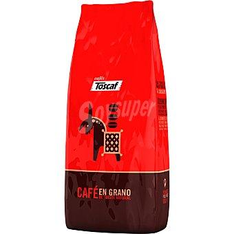 Toscaf Cafe extra natural en grano Paquete 500 g