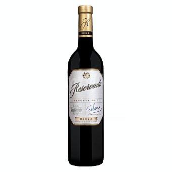 Reservado Vino tinto rioja reserva Botella 750 ml
