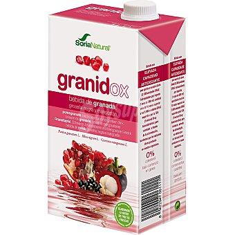 SORIA NATURAL Granidox Bebida de granada grosella negra y mangostán envase 1 l Envase 1 l