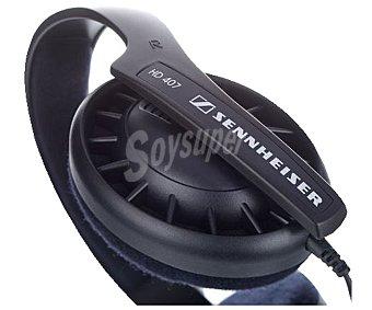 SENNHEISER HD 407 Auriculares tipo Casco 130 Gramos