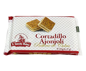 Don Sancho Melero Cortadillo ajonjolís 6 uds. 222 g