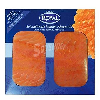 Pescados Royal Solomillos de salmón ahumado Pack 2 x 50 g
