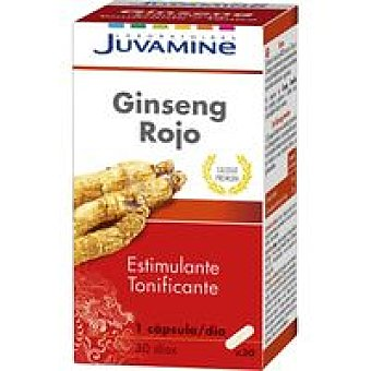 Juvamine Ginseng rojo en comprimidos Caja 30 unid