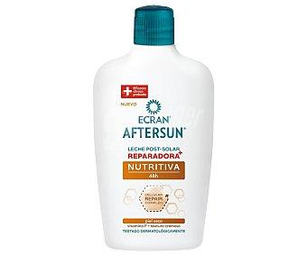 Ecran Leche aftersun con acción reparadora y nutritiva, especial pieles secas 400 ml