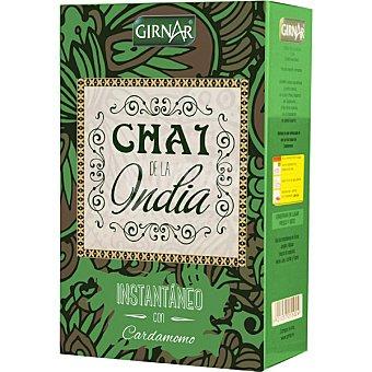 GIRNAR Té negro de La India con cardomomo 100% natural 10 bolsitas instantaneo caja 140 g caja 140 g