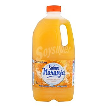 Carrefour Refresco naranja 2 l