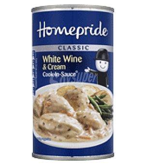 Homepride Salsa para cocinar vino blanco 500 g