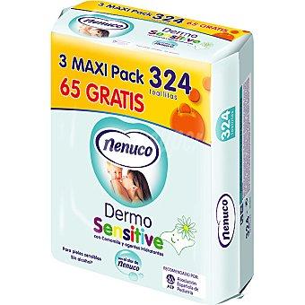 NENUCO DERMO SENSITIVE Toallitas infantiles Pack 3 envases 108 unidades