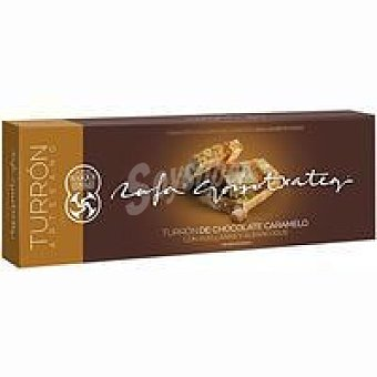 R. gorrotxategi Turrón de choco-caramelo-avellana caja 250 g
