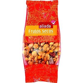 Aliada Cóctel almendras avellanas maíz garbanzos y pistachos Bolsa 200 g