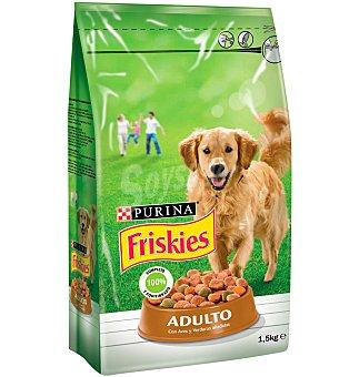 Friskies Purina Comida perro pollo Adulto 1,5 KGS