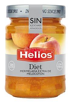 HELIOS Mermelada de melocotón sin azúcar y sin gluten 280 Gramos