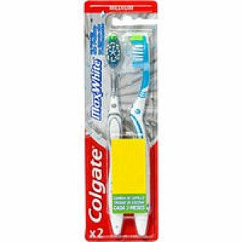 Colgate Cepillo dental Max White Pack 1+1 unid