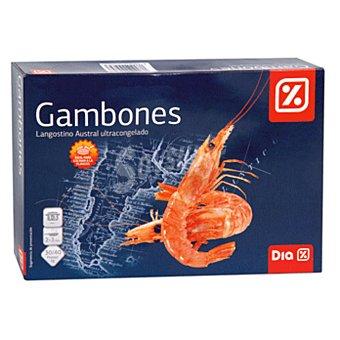 DIA Gambones langostinos austral crudo caja 1 kg Caja 1 kg