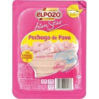ElPozo Pechuga pavo s/grasa bajo en sal bienStar sobre 180G