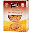 Crackers de centeno y lino Paquete 240 g Mastrigo