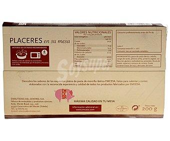 Emcesa Pasta de morcilla ibérica con piñones 200 gramos