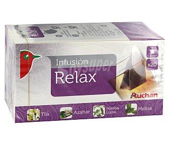Auchan Infusión relax 20 unidades