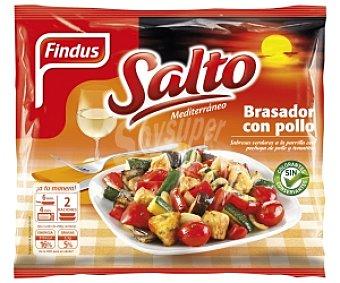 SALTO de FINDUS Salteado de Verduras con Pollo 500 Gramos