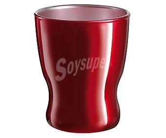 LUMINARC Taza especial para expresso fabricada vidrio color rojo modelo Flashy Expresso, 0,09 litros de capacidad 1 unidad