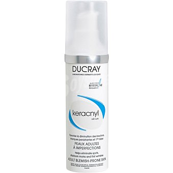 Keracnyl Ducray Serum para pieles adultas con imperfecciones Dosificador 30 ml