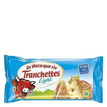 La Vaca que ríe Tranchettes queso fundido light en lonchas Envase 280 g (16 u)
