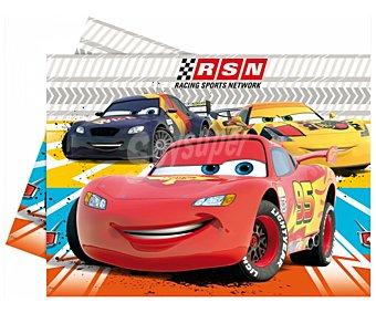 Disney Mantel de plástico con originales ilustraciones de la película Cars, 120x180 Centímetros 1 Unidad