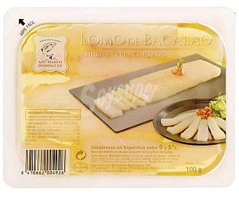Ahumados Domínguez Lomos de bacalao ahumado 100 gramos