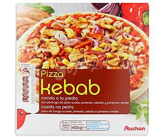 Auchan Pizza kebab 400 gramos
