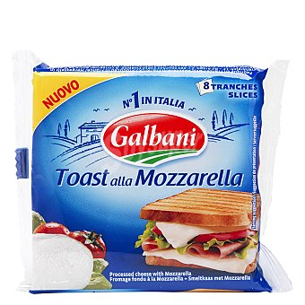 Galbani Lonchas de mozzarella fundidas 8 ud