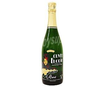 CUVÉE ELODIE Vino blanco espumoso, denominación de origen Clairette de Die Botella de 75 Centilitros