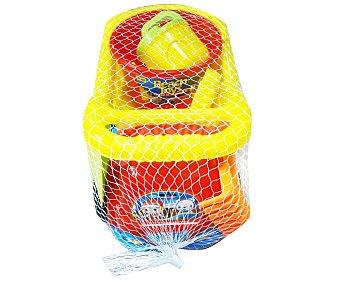 EURASPA Conjunto de juguetes de playa compuesto por un camión + accesorios 1 unidad