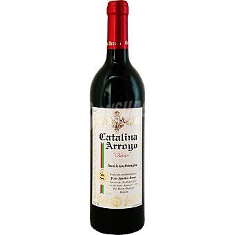 Catalina Arroyo Vino Tinto Extremadura Botella 75 cl