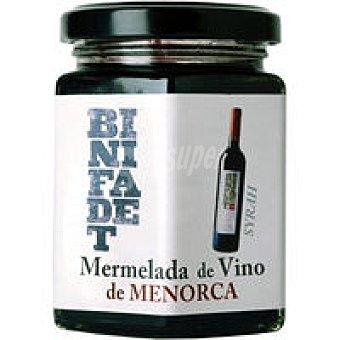 BINIFADET Mermelada de vino Syrah Frasco 195 g