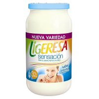 Ligeresa Salsa Sensación más ligera frasco 436 ml