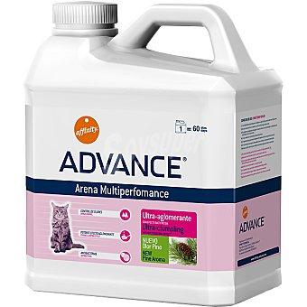 Advance Affinity Arena para gato ultra-aglomerante con olor a pino Multiperformance Envase 6,36 kg