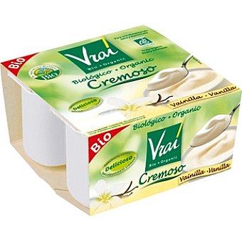 Vrai Yogur Cremoso Vainilla Ecológico 4x100g