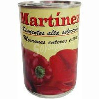 Martinez Pimiento morrón entero Lata 250 g