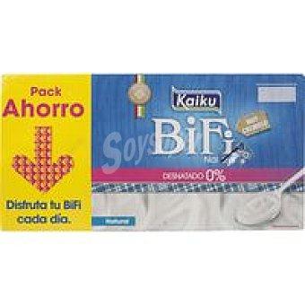 Kaiku Bifi Activium % natural edulcorado Pack 8x125 g