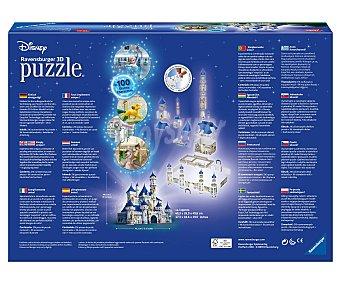Ravensburger Puzzle Castillo Disney en 3D, 216 piezas 1 unidad