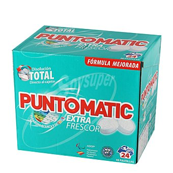 Puntomatic Detergente pastillas spa 24 lavados 24 lavados 48 ud