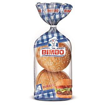Bimbo Pan hamburguesa Paquete de 220 g (4 unidades)