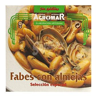 Consevas Agromar Fabes con almejas p.neto: 425 gr, p. neto escurrido: 355 gr 355 g