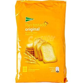 El Corte Inglés pan tostado original 30 rebanadas Paquete 270 g