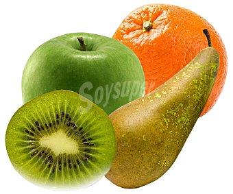 FRUTA ECOLÓGICA Surtido de fruta ecológica, bandeja 850 gramos