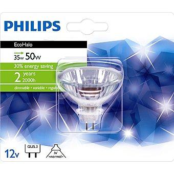 PHILIPS Ecohalo 35 W (50 W) lámpara eco halógena GU5.3 12 V