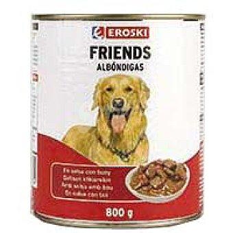 Eroski Albondigas de buey Friends Lata 800 g