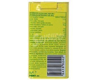 SMINT Caramelos duros balsámicos sin azúcar sabor limón  lata 35 g