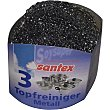 Estropajo metálico envase 3 unidades Santex